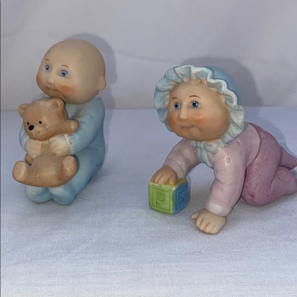 Cabbage Patch Other - Vintage Cabbage Patch Toddler Figurines